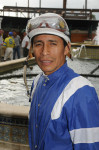 Jockey Edgar Prado  Photo:Gulfstream Park