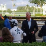 Trainer Todd Pletcher, by Barry Unterbrink