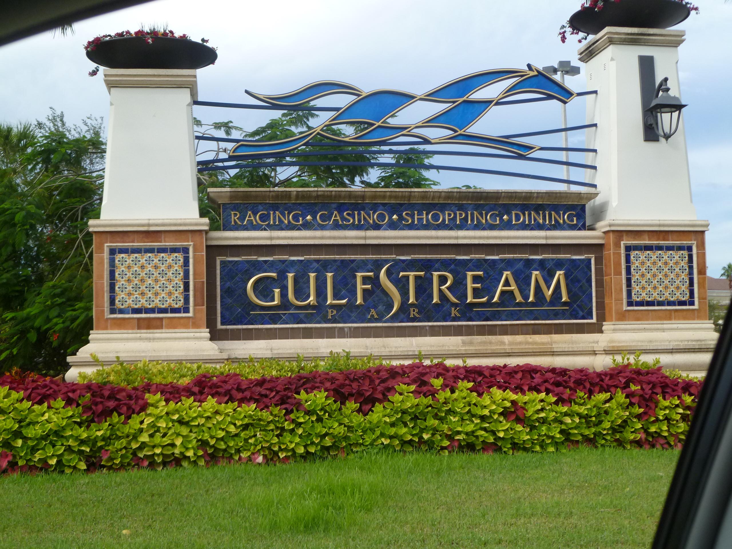 Horse Racing Fla Gulfstream Championship Meet Handle Up