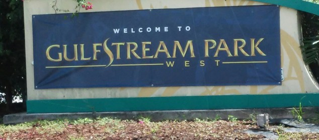 GSPark West Sign