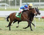 Megeve (5) wins the Sage of Monticello,