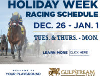 Holiday Racing Schedule at Gulfstream Park 2017